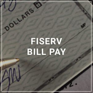 FIserv Bill Pay