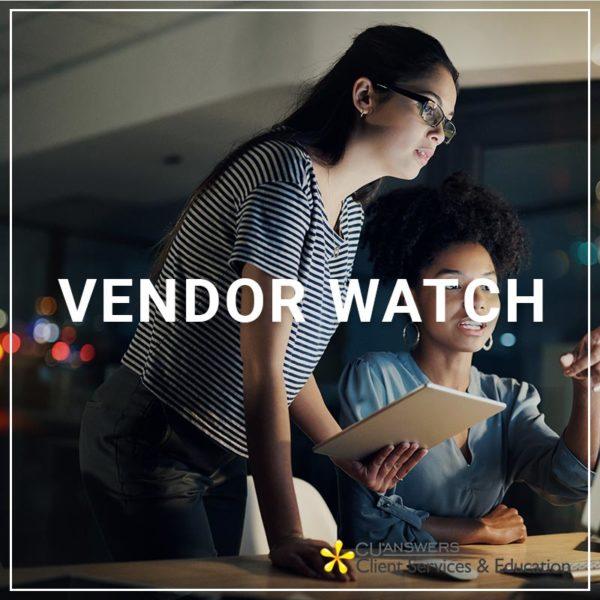 Vendor Watch