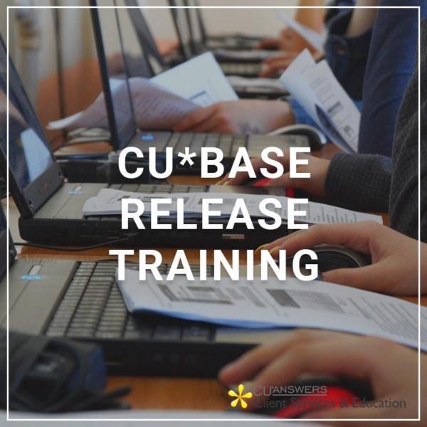 CU*BASE Release Training