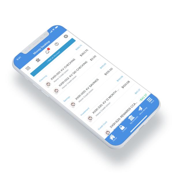 Add MoneyDesktop to Mobile App