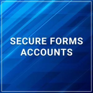 Secure Forms - Accounts