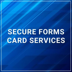 Secure Forms - Card Services