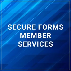 Secure Forms - Member Services