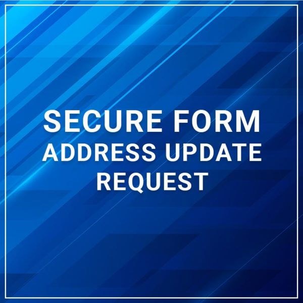Secure Form - Address Update Request