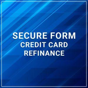 Secure Form - Credit Card Refinance