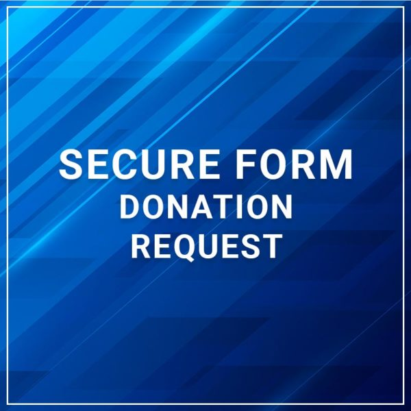Secure Form - Donation Request