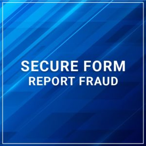 Secure Form - Report Fraud