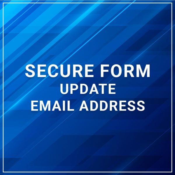 Secure Form - Update Email Address