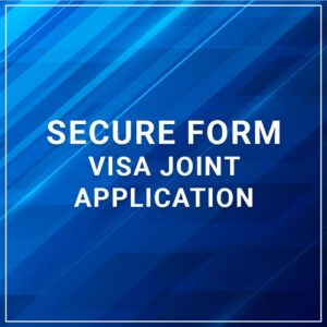 Secure Form - Visa Joint Application