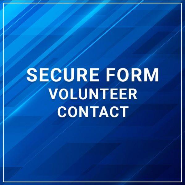 Secure Form - Volunteer Contact