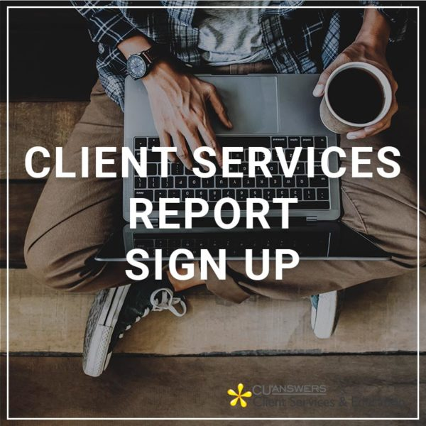 Client Services Report Sign Up