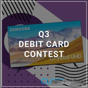 Q3 Debit Card Contest