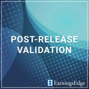 Post-Release Validation