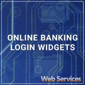 Online Banking Login Widgets