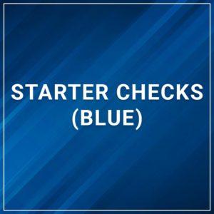 Starter Checks (Blue)