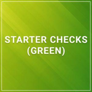 Starter Checks Green