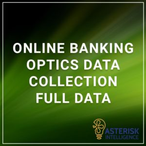 Online Banking Optics Data Collection Full Data